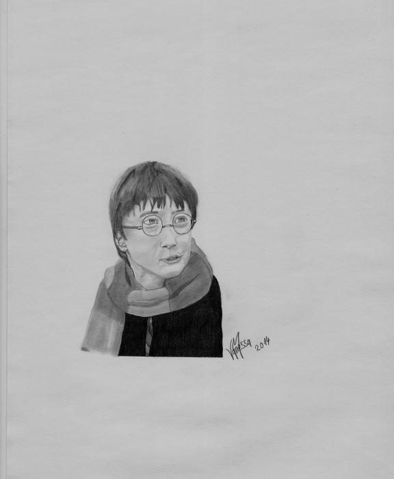 Daniel Radcliffe by Van